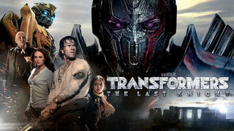 Transformers: The Last Knight (2017) on Netflix in Portugal